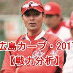 広島カープが2017も強い理由は?投手と野手の戦力を分析!