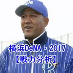 横浜DeNAの2017は弱い?優勝争いできる?投手と野手を分析