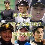 日本ハムのイケメン選手をランキング【プロ野球2017年版】