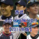 西武のイケメン選手をランキング【プロ野球2017年版】