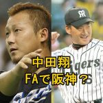 中田翔はFAで阪神移籍確実?背番号は金本監督の6?ポジションについても