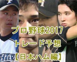 日本ハム2017・トレード