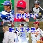 プロ野球新人王予想2017!セ・パの候補選手をまとめてみた!