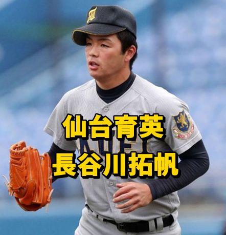 長谷川拓帆・仙台育英