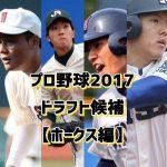 プロ野球2017ドラフト予想【ホークス編】候補選手をまとめてみた!