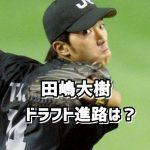 田嶋大樹のドラフト進路は阪神か巨人?彼女は?球種や評価に高校時代も