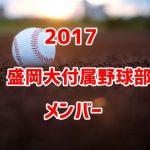 盛岡大付属野球部2017のメンバー紹介!出身中学と注目選手に監督も
