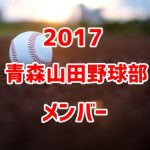 青森山田高校野球部2017のメンバー紹介!出身中学と注目選手に監督も