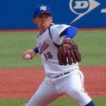 西村天裕(NTT東日本)のドラフト進路や評価は?球速や球種に中学高校時代も