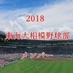 東海大相模野球部2018のメンバー紹介!出身中学と注目選手に監督も
