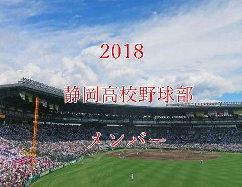 静岡高校野球部2018メンバー