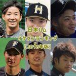 日本ハムイケメンランキング【2018年版】男前ベスト15!