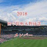 国学院栃木野球部2018のメンバー紹介!出身中学と注目選手に監督も
