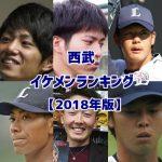 西武イケメンランキング【2018年版】男前ベスト15!