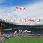 おかやま山陽高校野球部2018のメンバー紹介!出身中学と注目選手に監督も