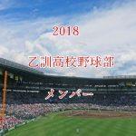 乙訓高校野球部2018のメンバー紹介!出身中学と注目選手に監督も