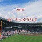 瀬戸内高校野球部2018のメンバー紹介!出身中学と注目選手に監督も