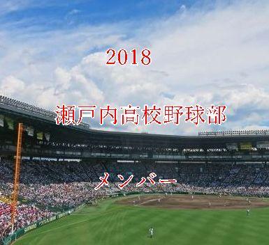 瀬戸内高校野球部2018メンバー