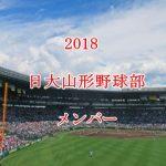 日大山形野球部2018のメンバー紹介!出身中学と注目選手に監督も