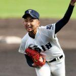 横川凱(大阪桐蔭)のドラフト進路は?出身中学と父や球速と球種も