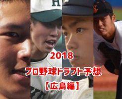 プロ野球ドラフト2018・広島