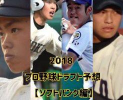 プロ野球ドラフト2018・ソフトバンク