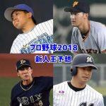 プロ野球新人王予想2018!セ・パの有力候補選手を8選!