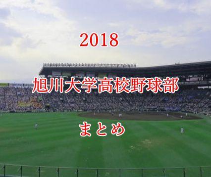 旭川大学高校野球部メンバー2018