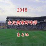 金足農業野球部メンバーの出身中学と注目選手のまとめ【2018年版】