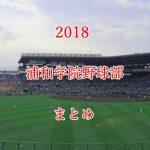 浦和学院野球部メンバーの出身中学と注目選手のまとめ【2018年版】