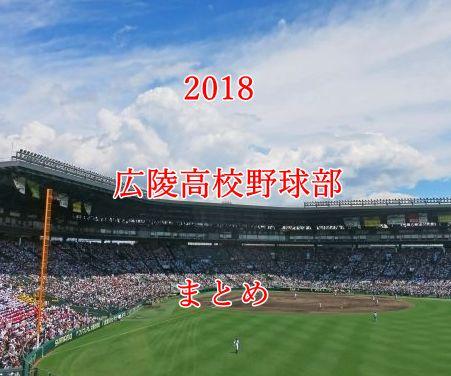 広陵高校野球部メンバー2018