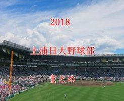 土浦日大野球部メンバー2018