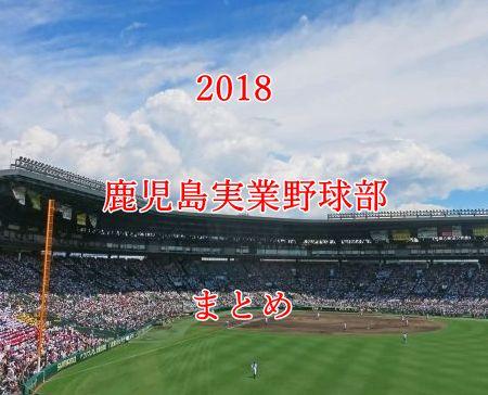鹿児島実業野球部メンバー2018