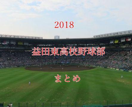 益田東高校野球部メンバー