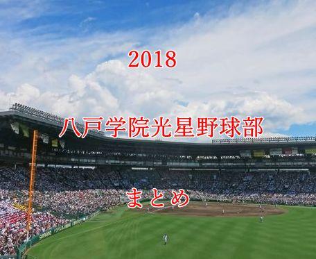 八戸学院光星野球部メンバー2018