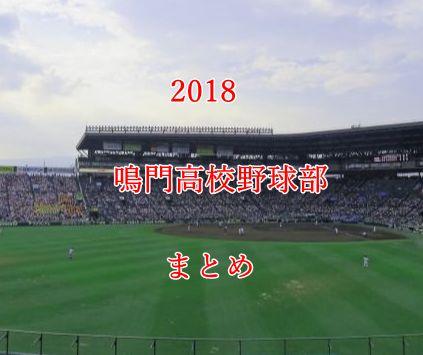 鳴門高校野球部メンバー2018