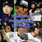 2018年プロ野球ゴールデングラブ賞を予想【パ・リーグ編】