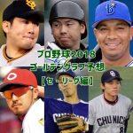 2018年プロ野球ゴールデングラブ賞を予想【セ・リーグ編】