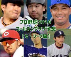 プロ野球ゴールデングラブ賞・予想2018-01