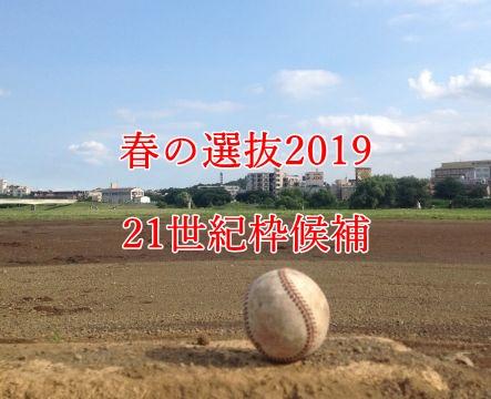 春の選抜2019・21世紀枠候補