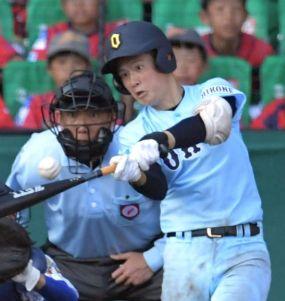 高校野球2019注目選手・有馬諒・近江