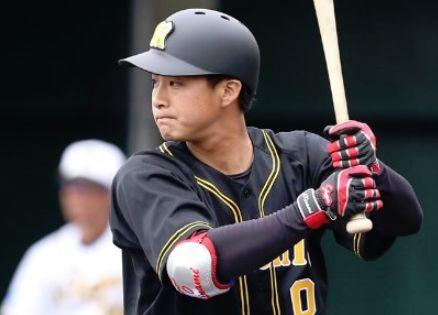 プロ野球イケメンランキング2019・木浪聖也・阪神