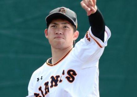プロ野球イケメンランキング2019・高橋優貴・巨人